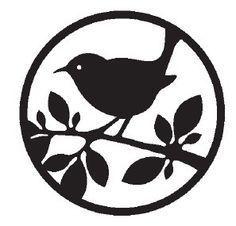 .bird stencil pattern                                                                                                                                                     Plus