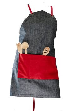 A personal favourite from my Etsy shop https://www.etsy.com/uk/listing/255094936/denim-mens-apron-cotton-apron-canvas
