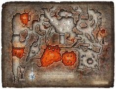Fire Giant lair.  Level three part two.