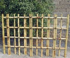 Superior Reed Fencing Framed Out   Makes It Tidier U0026 More Durable. | Nikkiu0027s Garden  Ideas | Pinterest | Fences, Bamboo Fence And Gardens