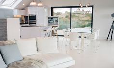 Cornwall Holiday Home. Furniture supplied by Momentum