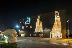 Climbing and sports center in dordrecht by NL architects 0
