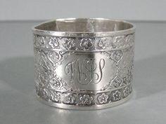 Tiffany & Co. Sterling Silver Napkin Ring Holder Rare