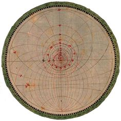 Astronomische Zeichnungen, BSB Cod.icon. -- Astronomical Drawing, Vienna, 1508 - 1520 / Sacred Geometry <3