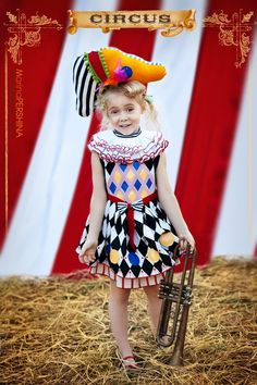 CIRCUS    Photographer - Marina Pershina    MUAH - Looiza Potapova    Kids Fashion Designer - Anastasiya Kurbatova