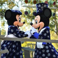 Minnie & Mickey