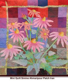 """""""Mini Quilt Simine Ahmaripour Patch Iran"""" (from Quilter's Pastiche)"""