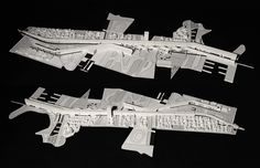FOCO archive: HELLINIKON study model bisecting the disused Athens airport with a zone charged by two linear housing/infrastructure bars #urbanism #architecture
