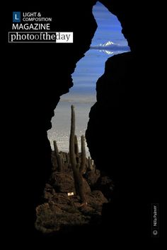 Cactus Island Glimpse, by Nilla Palmer Photography Awards, Creative Photography, Amazing Photography, Art Photography, Look At This Photograph, Dark Cave, Cool Photos, Beautiful Pictures, L And Light