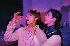 The boyz Sunwoo & Q Kim Sun, Chang Min, Bloom Baby, Bermuda Triangle, Keep Fighting, Picture Credit, Bias Wrecker, Pop Group, Beautiful Boys