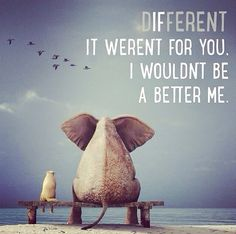 Each person sets us apart. Embrace your identity. #Different #MyAutism #MyIdentity