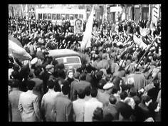 ESPAÑA EN GUERRA - Entrada del Ejército Nacional en Barcelona (27-01-1939) Frente Popular, Ebro, Civilization, Dolores Park, Barcelona, Concert, Youtube, Travel, Anarchism
