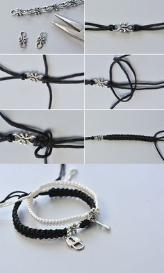 Wanna the braided couple bracelets? The making details will be published by LC.Pandahall.com