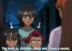 Rukia x Renji: I never freaking thought of this...the resemblance is uncanny! I DIED RIGHT NOW OMG THIS IS HILARIOUS