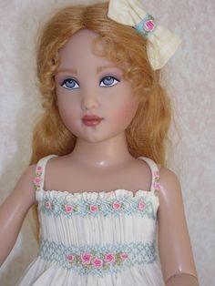 Summer sweet!  Would make a cute sundress for a little girl, too!
