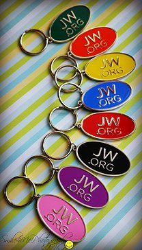 jw.org Keychain in 8 Colors