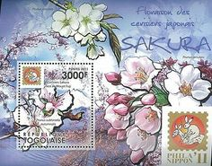 Togo Stamp 2011 Phila Nippon Sakura Flower Place s S   eBay