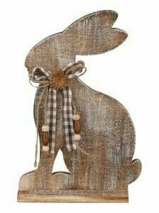 TrendDesign Wooden Easter Bunny Source by gszwedek Diy Crafts Love, Crafts For Teens To Make, Crafts To Sell, Spring Projects, Easter Projects, Easter Crafts, Diy Spring, Spring Crafts, Holiday Crafts