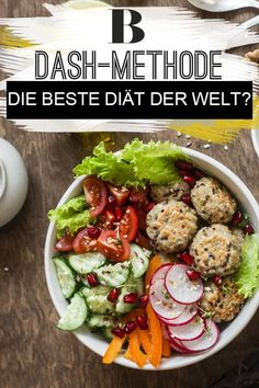 DASH diet: the best weight loss method in the world? Who wants to lose weight long term and healthy should, according to experts, only. Diet Salad Recipes, Protein Powder Shakes, Diet Meal Plans To Lose Weight, Keto Dessert Easy, Tasty, Yummy Food, Different Recipes, Best Weight Loss, Meal Planning