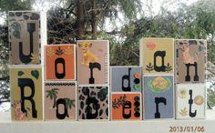 Wooden Name Blocks Letters M2M Kids Line Disney LION KING Nursery Bedding . Kidsline. Nursery Letters . Baby Name Blocks . Photo Props. $8.00, via Etsy.