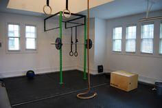 home gym flooring installation