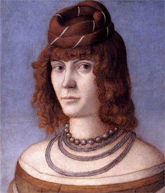 Portrait of a Woman, 1498  Vittore Carpaccio