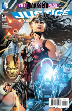 Justice League #42 - Darkseid War, Chapter Two: The New God (Issue)
