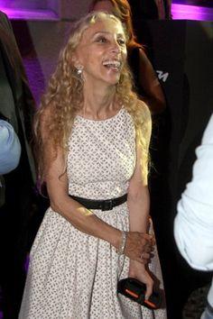 Franca Sozzani on Carine Roitfeld's Celebrity, Supporting John Galliano