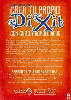 Blog. Cubo Espacio Creativo: TALLER MONOGRÁFICO! CREA TU PROPIO DIXIT.