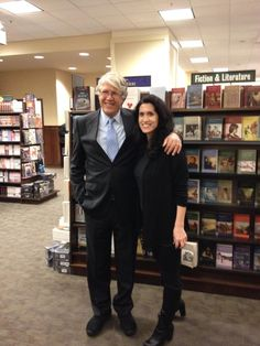 Me and Douglas Preston at the 2014 Blue Labyrinth signing in NYC