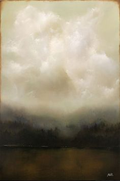 Adam Hall (painting)looks like Sammy's paintings by chasity Contemporary Landscape, Landscape Art, Landscape Paintings, Contemporary Art Paintings, Hall Painting, Sky Painting, Paintings I Love, Oil Paintings, Painting Inspiration
