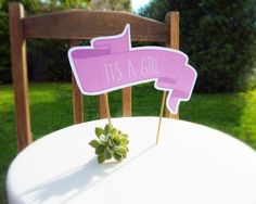 Baby Shower Cake Topper - Its a Girl