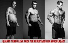 quanto tempo para ter resultados musculação antes e depois