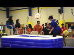 I-Poly Pep Rally Game Feb. 2012 - YouTube High School Games, School Fun, Homecoming Week, Homecoming Ideas, Cheer Stunts, Cheerleading Bows, Volleyball Drills, Volleyball Quotes, Cheer Mom