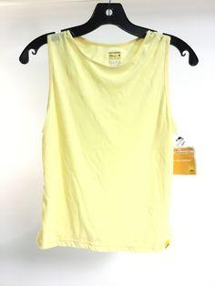 Pale Yellow Tank Top