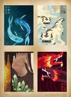 Original Bending Masters - Avatar, The Last Airbender / Avatar, the legend of Korra Avatar Aang, Avatar Airbender, Team Avatar, Fan Art Avatar, Avatar Series, Zuko, Legend Of Korra, Art Prints, Artwork