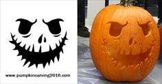 Halloween Pumpkin Carving Ideas 2016, Printable Templates, Free ...