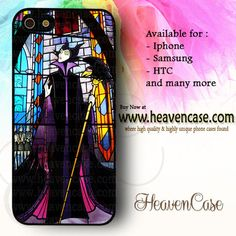 Maleficent Stained Glass available For Iphone 4/4s/5/5s/5c case , Samsung Galaxy S3/S4/S5/S3 mini/S4 Mini/Note 2/Note 3 case , HTC One X , HTC One M7 case , HTC One M8 case and many more , check our website www.heavencase.com