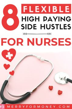 All nurses work hard already but if you're motivated for that extra cash away from bedside clinical work, check out 8 of these flexible easy.