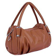 #Padgene #Echtleder #Damen #Handtasche #Schultertaschen #Shopper #Tragetasche…