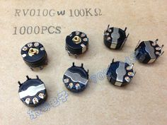 2pcs/bag Japan TDK RV010G Y10 precision potentiometer W100K hot