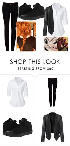 """""""Button down"""" by slytherine-queen ❤ liked on Polyvore featuring Steffen Schraut, Ted Baker and Converse"""