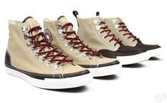 """Chuck Taylor boots """"Candied Ginger"""" color"""