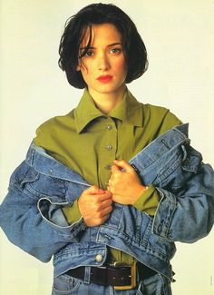 Oh so 90s. Oh So amazing. <3 Winona Ryder.
