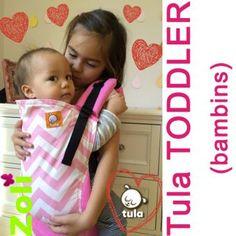 Porte Bébé TULA Toddler - Pink Zig Zag