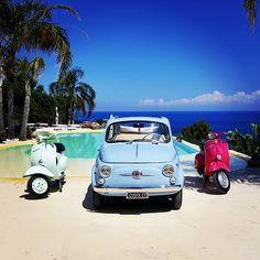 Classic Car News Pics And Videos From Around The World Fiat Cinquecento, Fiat Cars, Small Cars, Vespa, Maserati, Vintage Cars, Dream Cars, Classic Cars, Audi