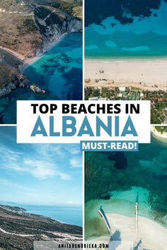 There's no doubt that Albania is a hidden gem in Europe, many people don't even know it exists!This is why I created the best Albania travel guide to the Albania beach destinations along the Albanian Riviera which includes Ksamil, Saranda, Vlore, Dhermi and more! Get to know some of the best places to visit in albania, things to do in albania, albania food recommendations and albania travel tips. Albania is a top balkan destination and best Europe vacation spot for the European summer! Albania Beach, Visit Albania, Albania Travel, Europe Travel Outfits, Europe Travel Guide, Travel Tips, Secluded Beach, European Summer, Seaside Towns