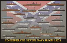 Confederate Navy Ironclads by sfreeman421 on DeviantArt