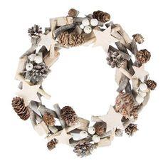 ACHICA | White Christmas Icy Wreath