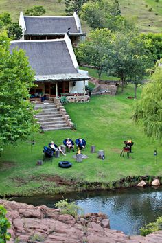 Cape Dutch, Kwazulu Natal, Lodge Style, Africa Travel, Newcastle, Lodges, South Africa, Golf Courses, Places To Visit
